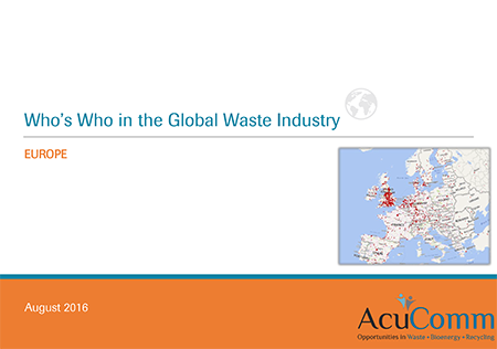 Who's Who in the Global Waste Industry: Europe - AcuComm